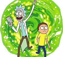 Rick and Morty Portal by SLEV