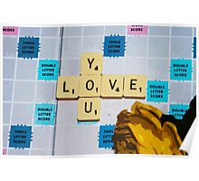 Words of Love 1 Poster