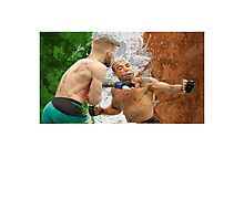 Conor McGregor Knockout Punch Jose Aldo UFC Fighter Photographic Print