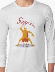 Soup'a'Man! Long Sleeve T-Shirt