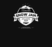 Snow Jam Atlanta 2014 T-Shirt (on Black) Unisex T-Shirt