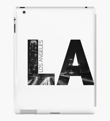 LA Print iPad Case/Skin