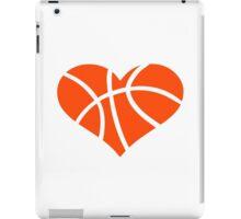 Basketball heart iPad Case/Skin