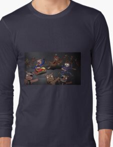 WOO!  Bumper Cars. Long Sleeve T-Shirt