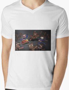WOO!  Bumper Cars. Mens V-Neck T-Shirt
