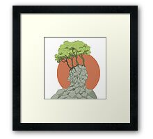 Old Man of the Mountain Framed Print