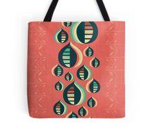 50's floral pattern III Tote Bag