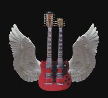 Rock Angel, T Shirts & Hoodies. ipad & iphone cases by Eric Kempson
