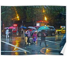 Early Morning Rain SF Poster