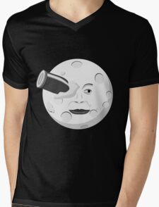 Georde Melies' A Trip to the Moon Mens V-Neck T-Shirt