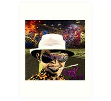 Fear and Loathing in Dark threads Art Print