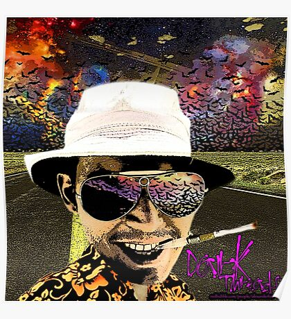 Fear and Loathing in Dark threads Poster
