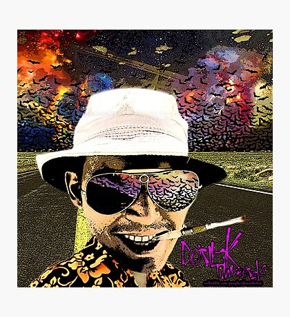 Fear and Loathing in Dark threads Photographic Print