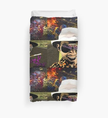 Fear and Loathing in Dark threads Duvet Cover