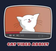 CAT VIDEO ADDICT by revnandi