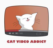 CAT VIDEO ADDICT One Piece - Short Sleeve