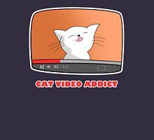 CAT VIDEO ADDICT Unisex T-Shirt
