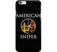Steph Curry - American Sniper iPhone Case/Skin