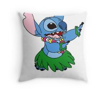 Aloha Stitch Throw Pillow