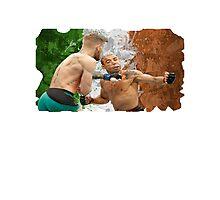 Conor McGregor Knockout Punch Jose Aldo UFC SoftEdge Photographic Print