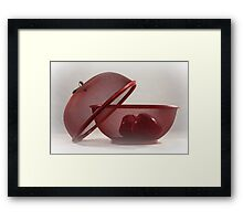 Red Red Apples Framed Print