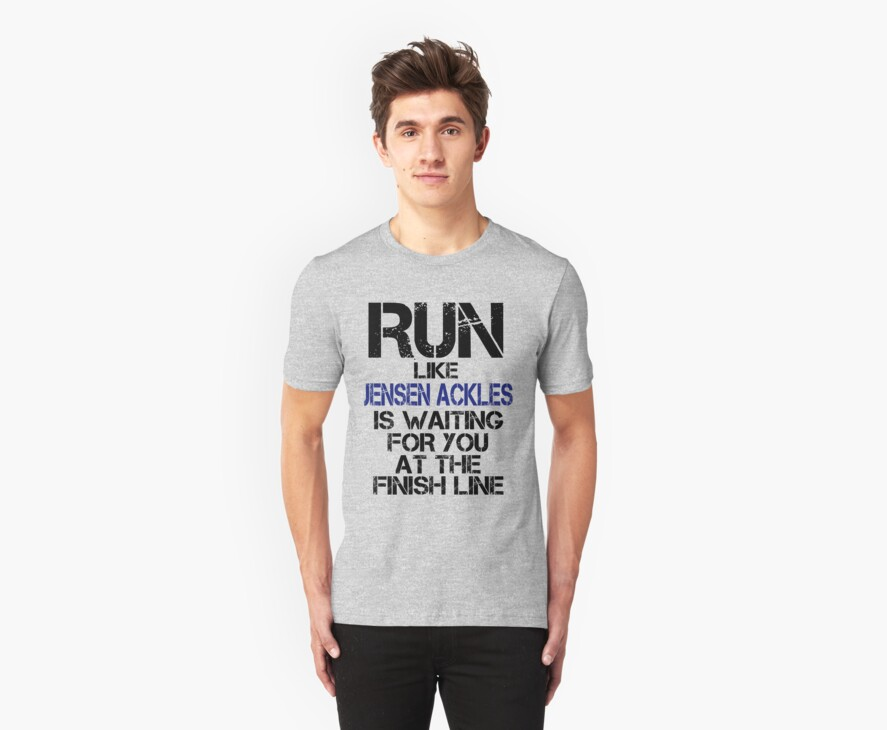 Run Like Jensen Ackles is Waiting by slitheenplanet