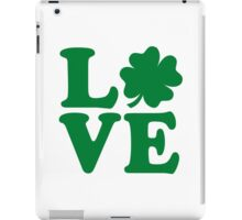 Irish shamrock love iPad Case/Skin