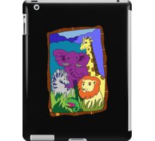 African Animal Party iPad Case/Skin