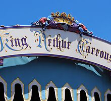 King Arthurs Carousel - Disneyland by jennisney