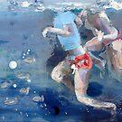 Bambini in acqua 1208 by Nicoletta Belletti
