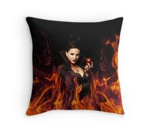 The Evil Queen - Once Upon a time Throw Pillow