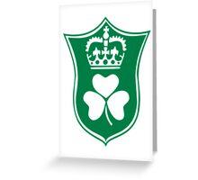 St. Patrick's day shamrock Greeting Card