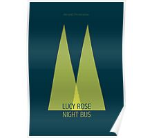 Lucy Rose Night Bus Poster