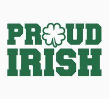 Proud irish shamrock Baby Tee