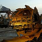 Excavator, Garzweiler ll mine, Germany. by David A. L. Davies