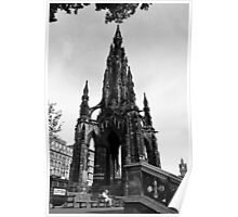 The Lady & the Scott Monument Poster