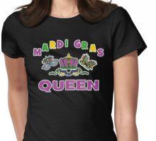 Mardi Gras Queen Womens Fitted T-Shirt