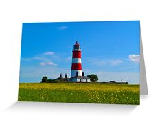 Happisburgh Lighthouse, North Norfolk Greeting Card