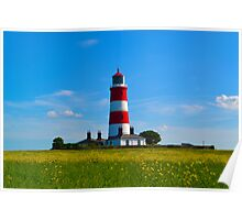 Happisburgh Lighthouse, North Norfolk Poster