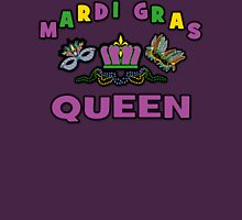 Mardi Gras Queen Womens Fitted T-Shirt