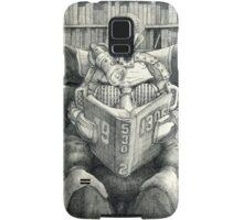 Bookish Headgear Samsung Galaxy Case/Skin