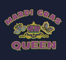 Mardi Gras Queen Kids Tee