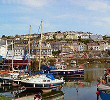 Boats at Mevagissey, Cornwall by SaraHardman
