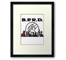 bprd b.p.r.d hellboy comic Framed Print