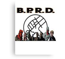 bprd b.p.r.d hellboy comic Canvas Print