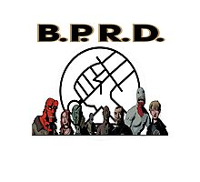 bprd b.p.r.d hellboy comic Photographic Print