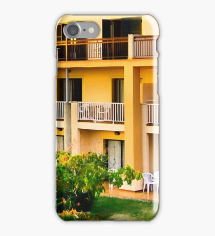 Creamy apartments iPhone Case/Skin