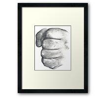 Fist 1 Framed Print