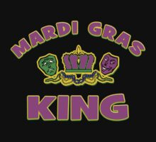 Mardi Gras King by HolidayT-Shirts