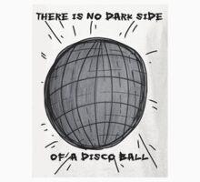 Dark Side Of A Disco Ball by woahovian